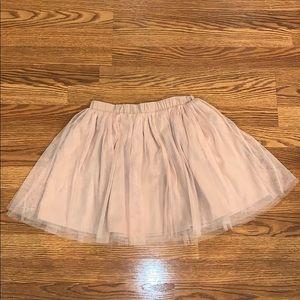 Ballet slipper pink tulle skirt from J. Crew